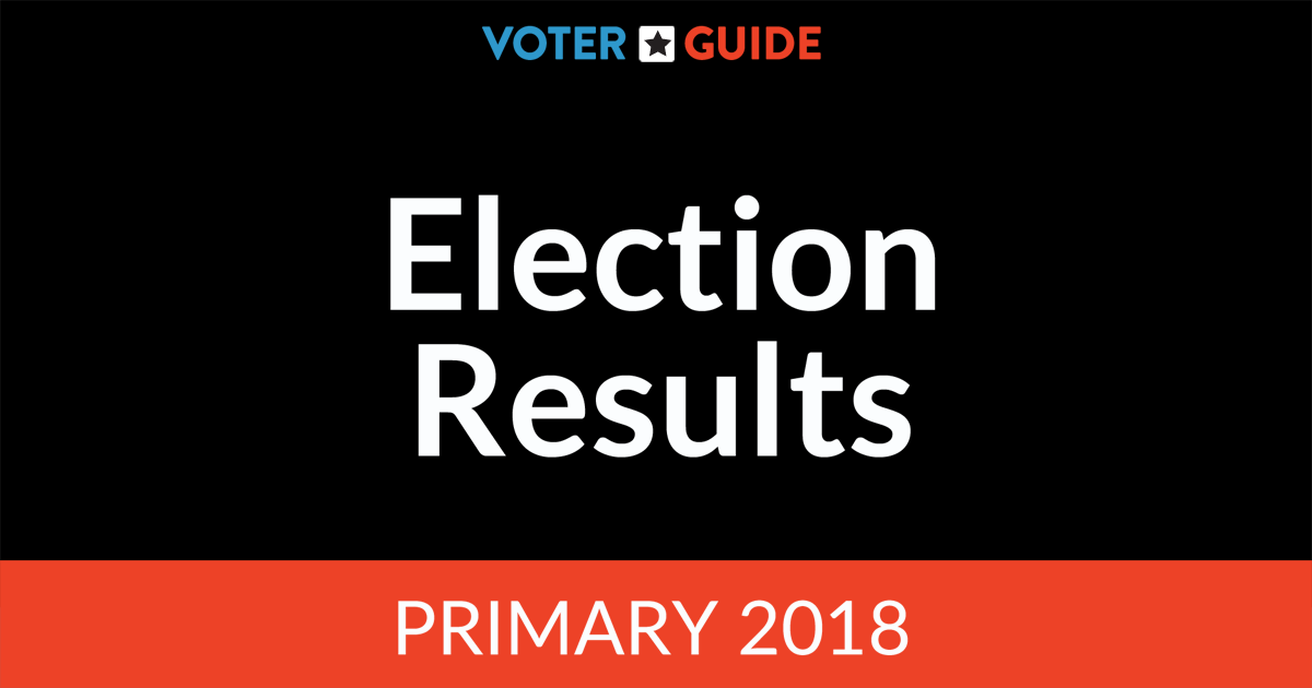 2018 Primary Election Results | Baltimore Sun Election Guide
